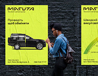 Identity design for Maruta.cars