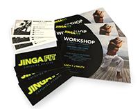 Jinga Fit Branding