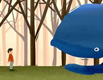 Ilustrações digitais: Nossa Casa-Caminhão