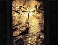 """Transition"" woodcut/laser engraving/light box"