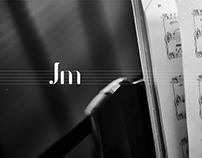 JM // logo, animation, namecard