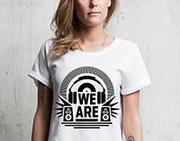 WE-ARE.CZ logo & branding