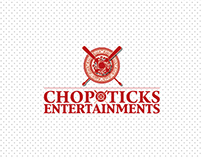 Chopxticks Entertainment Branding