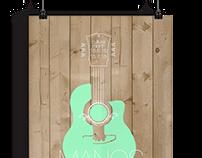 Manos Hadjidakis- Musician Poster- Christina Filippou