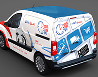 SouqTime Cargo Van Design.