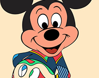 Pop Art Mickey Mouse