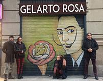 Barcelona Graffiti and handmade brand elements project