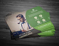 Corporate Post Card Templates.