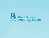 B Kid's Feeding Bottle l Package Design