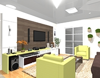 PROJETO: sala de estar familiar