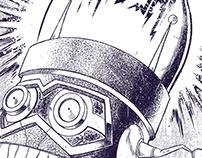 Poster/Tshirt - High Voltage Massai Robotto 2000