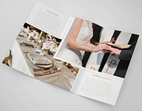 FREE WEDDING TRI-FOLD BROCHURE IN PSD