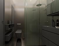 rba | Dark Bathroom