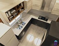 White Cabinets Kitchen Design (20180120)