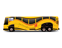 Kodak Olympic Buses