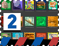 Estampillas - Postage Stamps 02