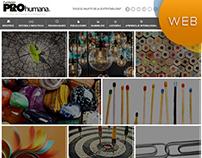 ProHumana - Sitio Web