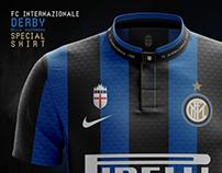 FC Internazionale - Derby 2017 Special Shirt - Concept