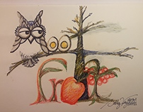 Hoot4Fruit Logos