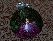 Alice no país das maravilhas: Proposta de capa