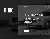 0to100 - Luxury cars rentals services