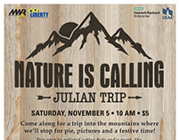 Nature is Calling - Julian Hiking Trip