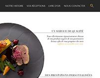 Webdesign | Site de traiteur