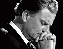 Billy Graham Digital Billboard Tribute