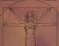 Vitruvian Mermaid