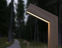 Lamp. Concept