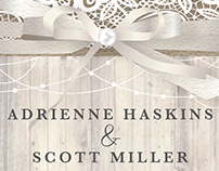 Haskins-Miller Wedding Invite 2016