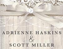 Haskins-Miller Wedding Invite 2016