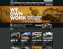 Ford Landing Page Concepts and Design - Were Live