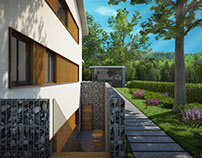 3D Modeling and Rendering - Exterior and Interior 04