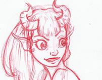 Horns bocetos