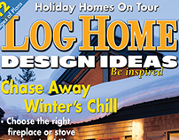 Editorial Design: Log Home Design Ideas