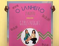 O Lanheiro Café-Bar / 2 In A Million // Poster