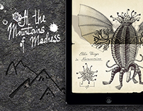 """At the Mountains of Madness"" Interactive eBook"