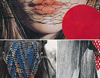 Selection of details from collages