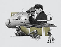 Robert Capa • Tribute collages