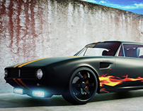 Chevrolet Camaro Coupe 1968 Customized
