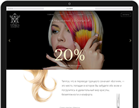 """Tanrica"" Beauty Salon Website"