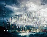 PESTAGALLI building - exterior