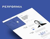 Performia website