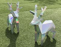 Hologram Deer