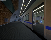 Subway Station - Unreal Environment