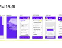 UI/UX: Material Design inspired User Flow