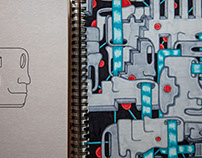 Мanufacturing sketchbooks