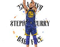 Adobe DRAW : NBA series - Stephen Curry