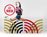 Virgin Active Red Campaign